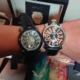 ガガミラノ(GaGa MILANO)の【値下げ】マニュアーレ4点セット 手巻き時計(腕時計(アナログ))