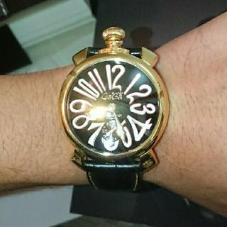 ガガミラノ(GaGa MILANO)の【値下げ正規品】GaGa MILANOガガミラノ48㎜ 5011マヌアーレ(腕時計(アナログ))