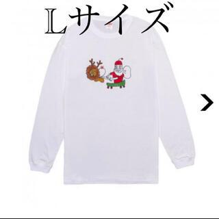 マエケンTシャツ クリスマス  Lサイズ(Tシャツ/カットソー(半袖/袖なし))