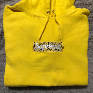シュプリーム(Supreme)のSUPREME Bandana Box Logo Hooded Sweat(パーカー)