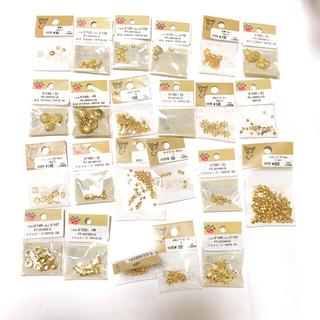 キワセイサクジョ(貴和製作所)のメタルパーツ&ビーズ・座金 ゴールド(各種パーツ)