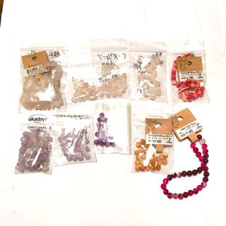 キワセイサクジョ(貴和製作所)の石 ローズクォーツ、アメジストなど(各種パーツ)