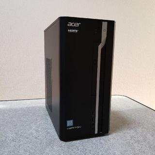 エイサー(Acer)のacerデスクトップpc i5-7400/4G/1T 2018年製(デスクトップ型PC)