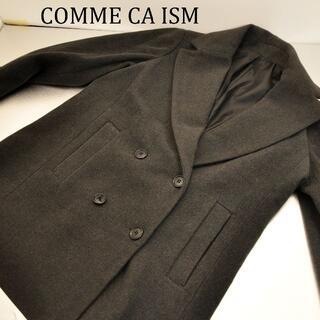 コムサイズム(COMME CA ISM)のCOMME CA ISM チェスターコート レディース グレー(チェスターコート)