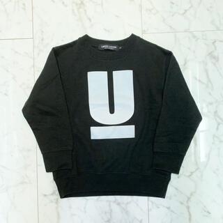 アンダーカバー(UNDERCOVER)の【Chun様専用】UNDERCOVER アンダーバー クルースウェット 黒(Tシャツ/カットソー)