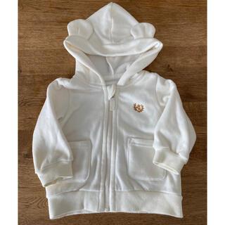 アカチャンホンポ(アカチャンホンポ)のベビー服 サイズ70 クマ耳付パーカー アカチャン本舗(トレーナー)