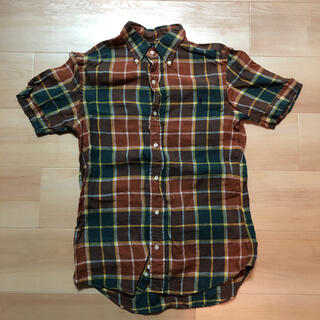 ジムフレックス(GYMPHLEX)のGymphlex ジムフレックス 半袖シャツ リネン チェックシャツ(シャツ)
