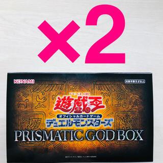 ユウギオウ(遊戯王)の遊戯王 PRISMATIC GOD BOX  2箱 新品未開封 (Box/デッキ/パック)
