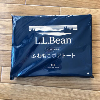 エルエルビーン(L.L.Bean)のLEE 1月号付録 L.L.Beanトートバッグ (その他)
