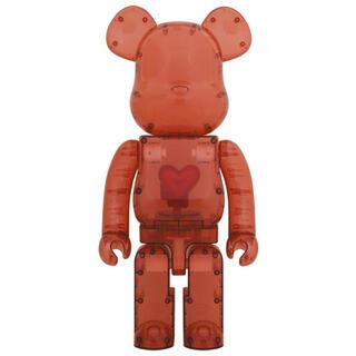 メディコムトイ(MEDICOM TOY)のBE@RBRICK Emotionally Clear Red Heart(その他)