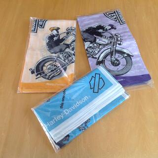 ハーレーダビッドソン(Harley Davidson)のハーレーダビットソン 大判ハンカチ、バンダナ ❓(バンダナ/スカーフ)