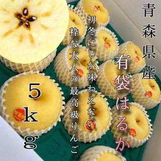 青森産  はるか リンゴ 家庭用  3kg  農家直送送料無料(フルーツ)
