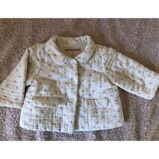 ボンポワン(Bonpoint)のボンポワン  中綿入りジャケット 6month(ジャケット/上着)