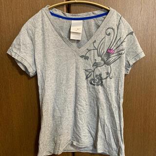 ナイキ(NIKE)のNIKEナイキ VネックTシャツ(Tシャツ(半袖/袖なし))