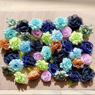 お花 造花 ハンドメイド フラワー 素材 ウエディング 大量 まとめ売り(その他)