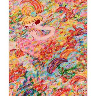 新品未開封 魔法の手 ロッカクアヤコ 作品展 限定ポスター(その他)
