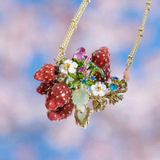 レネレイド(Les Nereides)の薔薇色の手紙さま専用です。ネックレス&自由区セットアップ(ネックレス)