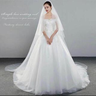タカミ(TAKAMI)のロングベール3m ウェディング(ヘッドドレス/ドレス)