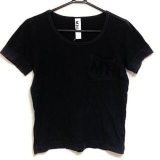 マーガレットハウエル(MARGARET HOWELL)のマーガレットハウエル 半袖Tシャツ 2 M 黒(Tシャツ(半袖/袖なし))