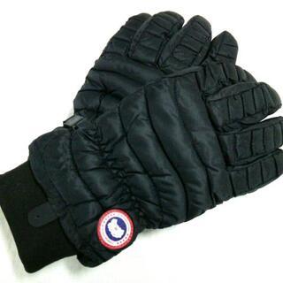 カナダグース(CANADA GOOSE)のカナダグース 手袋 L/G メンズ美品  - 黒(手袋)