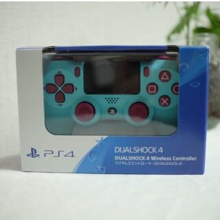 プレイステーション4(PlayStation4)のゲオ限定 DUALSHOCK4 ベリー・ブルー PS4 新品未開封(その他)