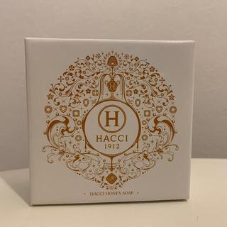 ハッチ(HACCI)の新品未使用■HACCI [120g] 石鹸はちみつ洗顔石けん(ボディソープ/石鹸)
