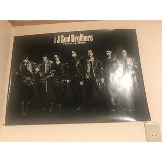 サンダイメジェイソウルブラザーズ(三代目 J Soul Brothers)の三代目J Soul Brothers ポスター 限定 STORM RIDERS(ミュージシャン)