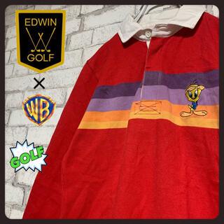 エドウィン(EDWIN)の【ゴルフ】EDWIN GOLF エドウィンゴルフ/長袖ポロシャツ トゥイーティー(ウエア)