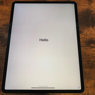 アイパッド(iPad)の美品 iPad Pro 12.9インチ64GB 第3世代 WiFiモデル(タブレット)