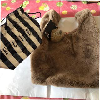 saisaiトートバッグ+ELLE 巾着 未使用品(トートバッグ)