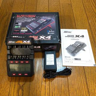 ハイテック(HI-TEC)のハイテック HI-TEC 充電器 X4 アドバンス 箱 説明書付き(模型/プラモデル)