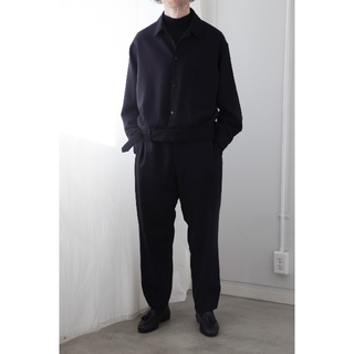 コモリ(COMOLI)の【専用】COMOLI ウールサージベルテッドジャケット size3(ブルゾン)