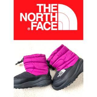 ザノースフェイス(THE NORTH FACE)のノースフェイス ヌプシブーツ キッズ靴♪15cm/ピンク(ブーツ)
