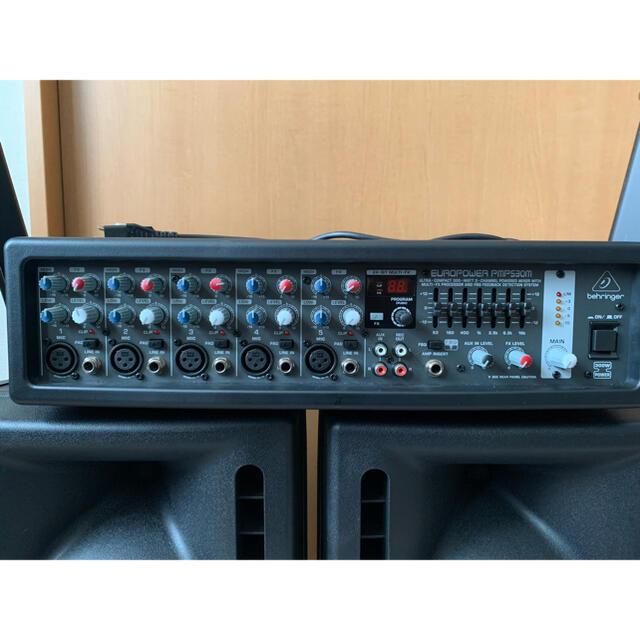 パワーアンプ&スピーカー&スピーカースタンド 楽器のレコーディング/PA機器(パワーアンプ)の商品写真
