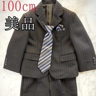 男の子 フォーマルスーツ 100cm(ドレス/フォーマル)