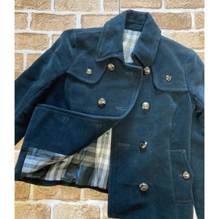 バーバリー(BURBERRY)のBurberry BLUE LABELコート  Pコート美品‼️女性用(ピーコート)
