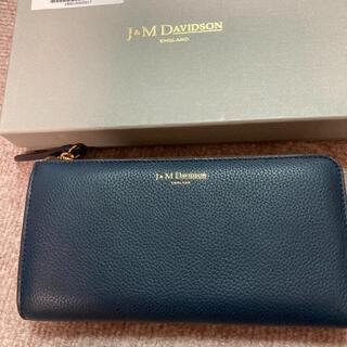 ジェイアンドエムデヴィッドソン(J&M DAVIDSON)のジェイアンドエムL字ファスナー長財布(財布)