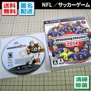 プレイステーション3(PlayStation3)の【希少】MADDEN NFL12/ウイニングイレブン2014(PS3)(家庭用ゲームソフト)