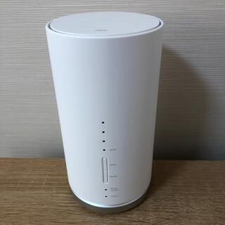エーユー(au)の即納 HUAWEI  Speed Wi-Fi Homeルーター L01s au (PC周辺機器)