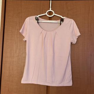 エニィスィス(anySiS)のピンクのトップス(Tシャツ(半袖/袖なし))