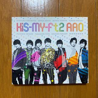 キスマイフットツー(Kis-My-Ft2)のAAO 初回生産限定盤(アイドルグッズ)