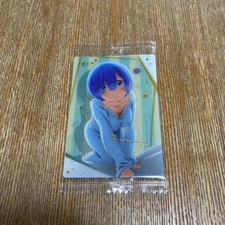 バンダイ(BANDAI)のRe:ゼロから始める異世界生活 ウエハース No.28レム【レア】(カード)