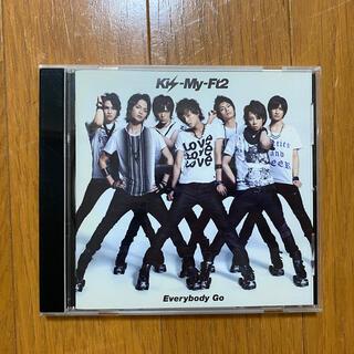 キスマイフットツー(Kis-My-Ft2)のEverybody Go 通常盤(アイドルグッズ)