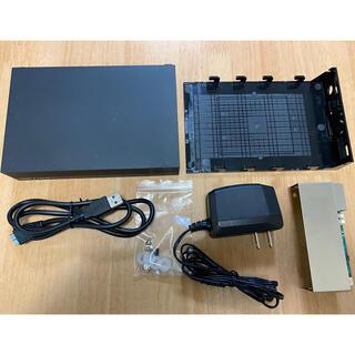 バッファロー(Buffalo)の中古送料込 外付けハードディスクケース 3.5インチ BUFFALO(PC周辺機器)