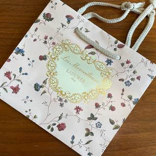 レメルヴェイユーズラデュレ(Les Merveilleuses LADUREE)の☆Les Merveilleuses LADUREE 紙袋☆(ショップ袋)
