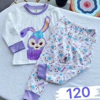 ステラルー(ステラ・ルー)のステラルー  キッズパジャマ ルームウェア セットアップ子供 長袖 120(パジャマ)