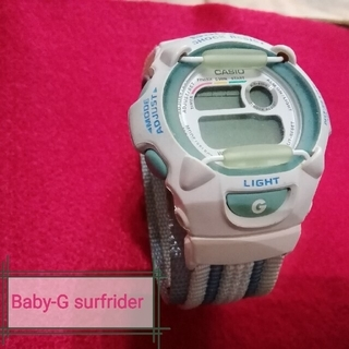 ベビージー(Baby-G)のG-SHOCK!  Baby-G surfrider foundationモデル(腕時計(デジタル))
