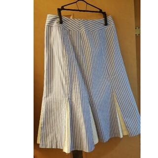 ジェイプレスレディス(J.PRESS LADIES)のJ.PRESS スカート 水色(ひざ丈スカート)