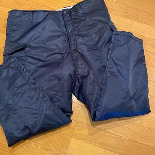 ミドリアンゼン(ミドリ安全)の新品 防寒作業ズボン 3L 紺色 ミドリ安全(ワークパンツ/カーゴパンツ)