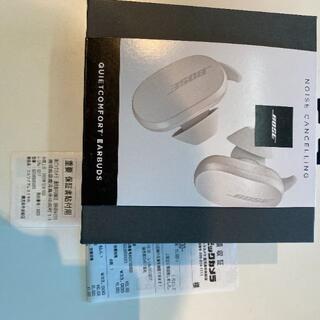 ボーズ(BOSE)の【新品】 Bose QuietComfort Earbuds ホワイト(ヘッドフォン/イヤフォン)